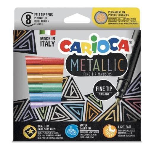 Metallic_8_db-os_szines_filctoll_szett-_Carioca