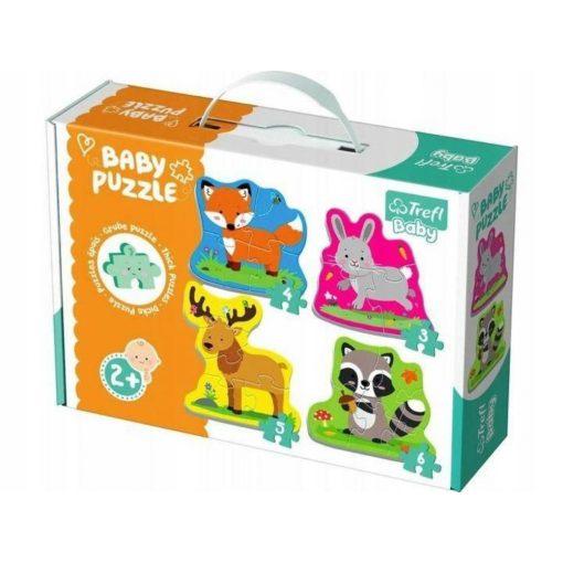 erdei-allatok-baby-puzzle-trefl