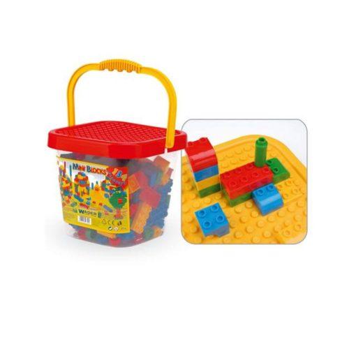 Építőkocka - Szines_mintas_50_db_os_Viga_Toys_5333
