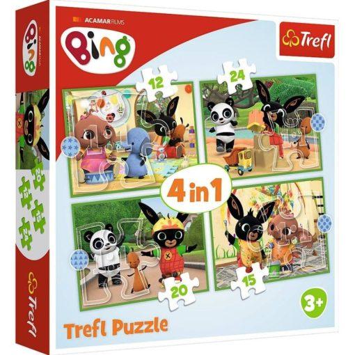 bing-nyuszi-4-in-1-puzzle-trefl-kirako-jatek