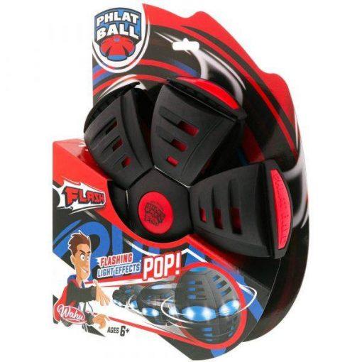 phlat-ball-flash-frizbi-labda-piros-fekete