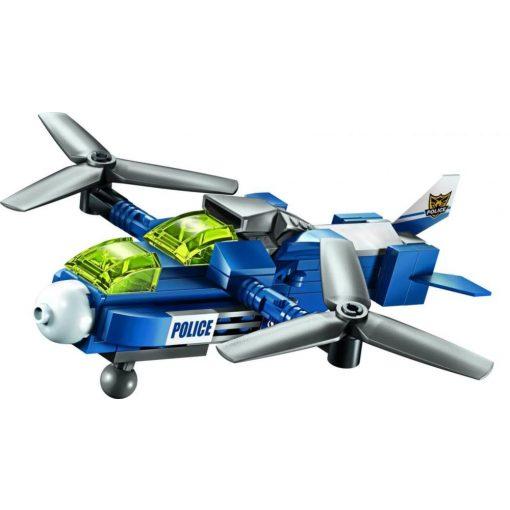 Rendőrségi repülő építőjáték- Qman
