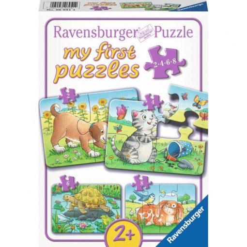 Haziallatkak_Ravensburger_puzzle_2/4/6/8_db-os_kirako