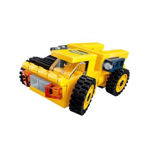 Nehézszállító jármű építőjáték- Qman