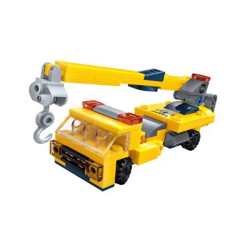 Daruskocsi építőjáték - Qman