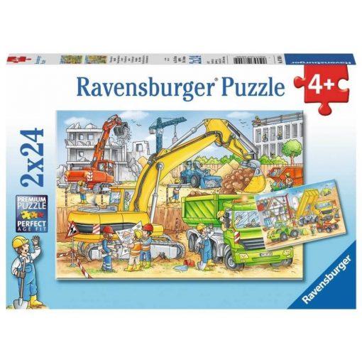 Az_épitkezesen_Ravensburger_puzzle_2x24_db-os_kirako