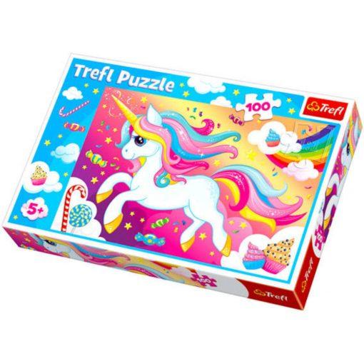 unikornis-a-szivarvanyvilagban-trefl-100-dabaros-puzzle