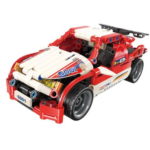 Rally autó a technika szerelmeseinek építőjáték - Qman-6001