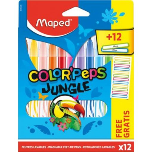 filctoll-keszlet-kimoshato-maped-colorpeps-jungle-12-kulonbozo-szin12-ajandek-matrica